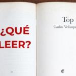 ¿Qué leer? Top 3 Carlos Velázquez