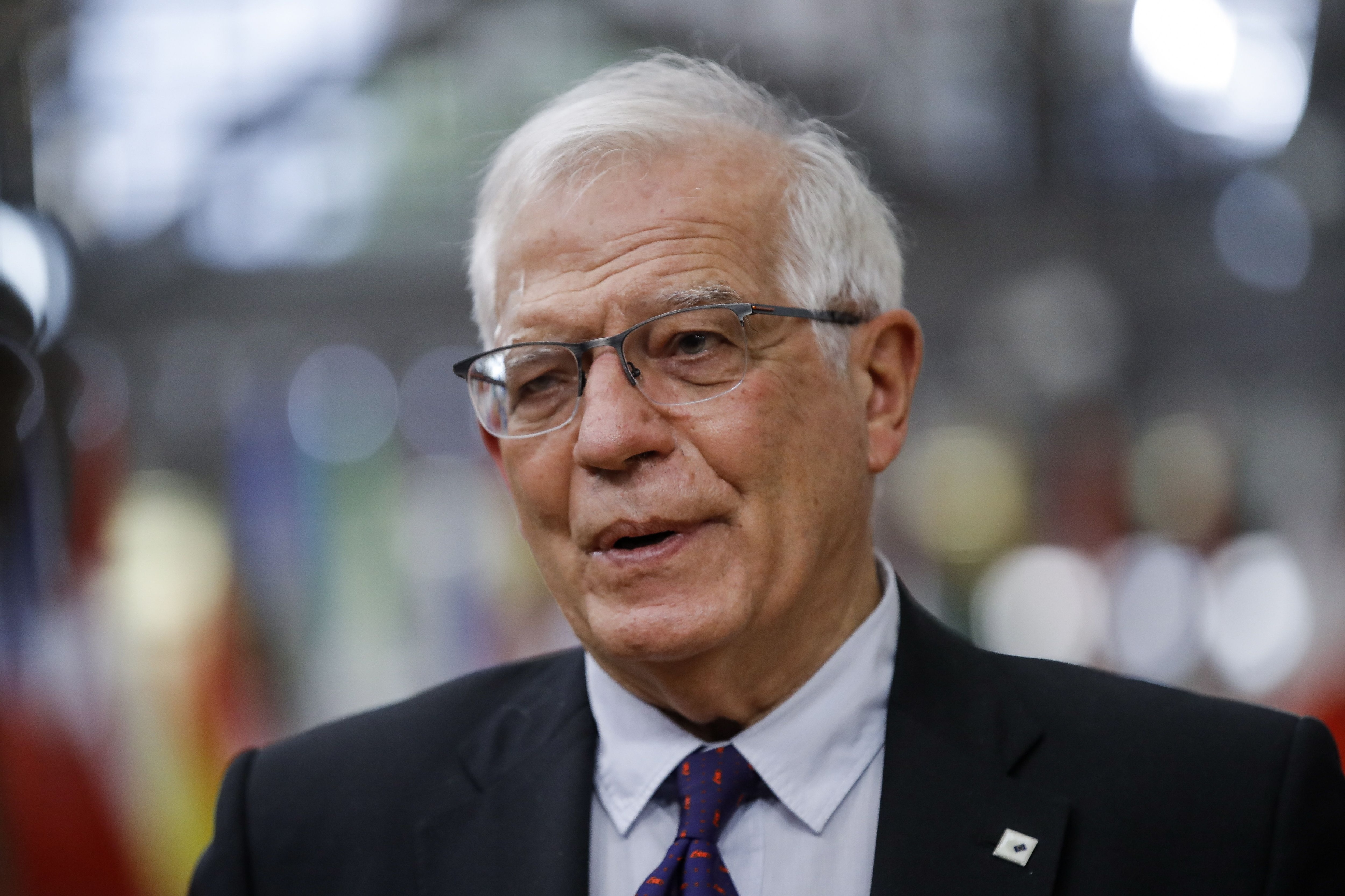 Brussels (Belgium), 24/05/2021.- European Union foreign policy chief Josep Borrell arrives at a special EU summit in Brussels, Belgium, 24 May 2021. EU leaders will discuss foreign policy EFE/EPA/OLIVIER HOSLET / POOL/Archivo